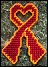 Free Virginia Tech Support-Remembrance Heart Ribbon