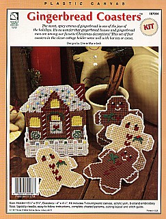 Gingerbread Coasters Kit