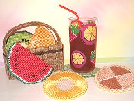 Fruit Basket Coasters