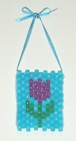 Free Mini Tulip Beaded Banner
