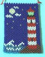 Midnight Lighthouse Beaded Banner
