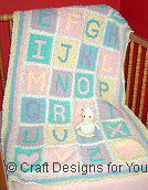 Crochet Pattern For Abc Baby Blanket : Lovely Crochet Patterns for Sale at Craft Designs for You ...