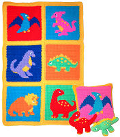 Crochet Dinosaur Afghan Pattern : Pics Photos - Crochet Dinosaur Afghan Pattern Crochet Patterns