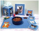 Joyful Kitten Decor Set