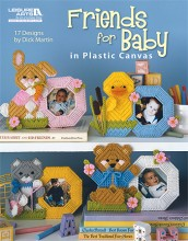 Plastic Canvas Friends for Baby Book