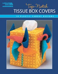 Plastic Canvas Top-Notch Tissue Box Covers Book