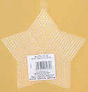 Plastic Canvas 5-inch Star