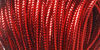 Darice Bright Jewels Metallic Cord RED
