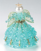 MARCH Aquamarine Beaded Angel Kit