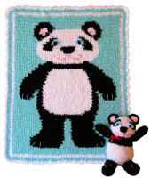 Crochet Sleepy Time Panda Set