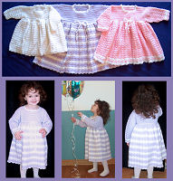 Crochet Winter Princess Party Dress